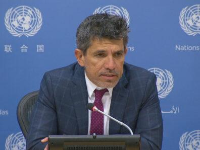 Victor Madrigal-Borloz, experto independiente sobre temas de género en la ONU