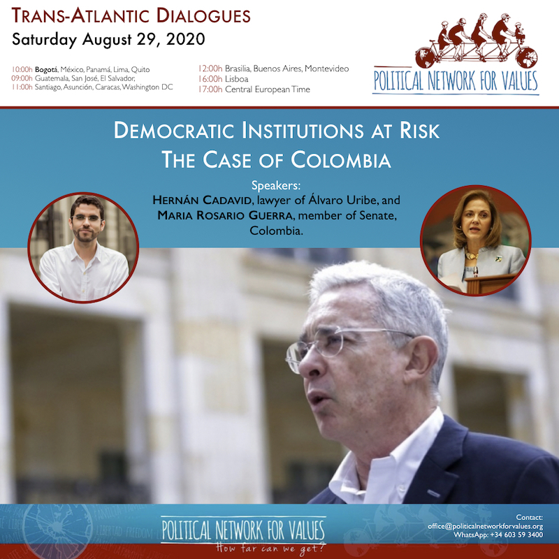 Trans-Atlantic Dialogues - Democratic Institutions Risk - Colombia -