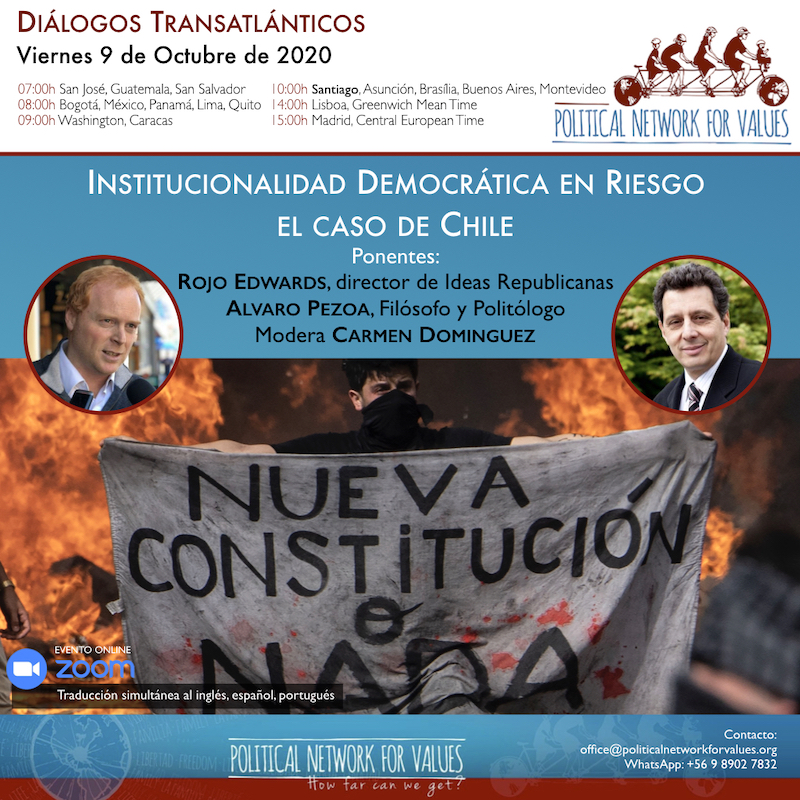 webinar Democratic Institutions at Risk. The case of Chile