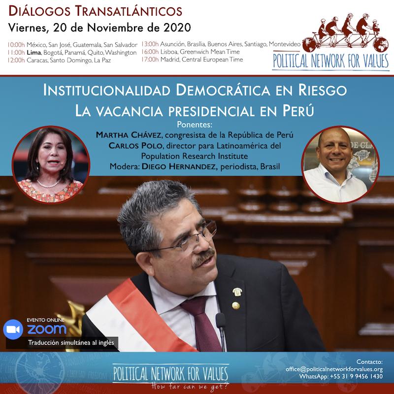 Diálogos Transatlánticos - Peru - 201120 ES