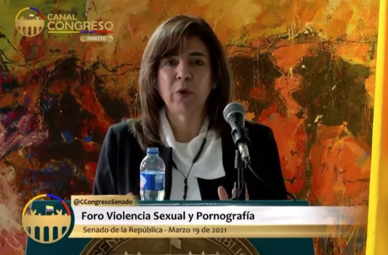 Milla Romero, senadora
