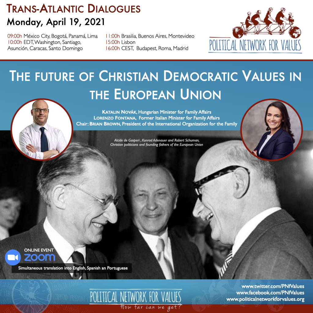 PNfV Trans-atlantic Dialogues – Christian Democratic Values EU – 210419 En