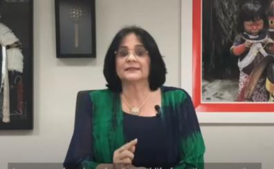 Damares Alves, ministra de Mujeres, Familia y DDHH de Brasil