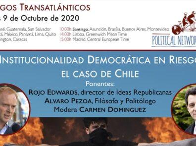 noticia Webinar Institucionalidad Democrática en Riesgo. El caso de Chile.