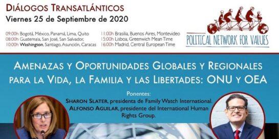 Diálogos transatlánticos - septiembre 2020